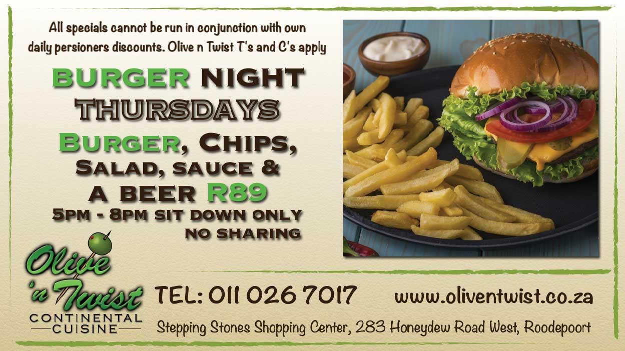Burger-Thursdays