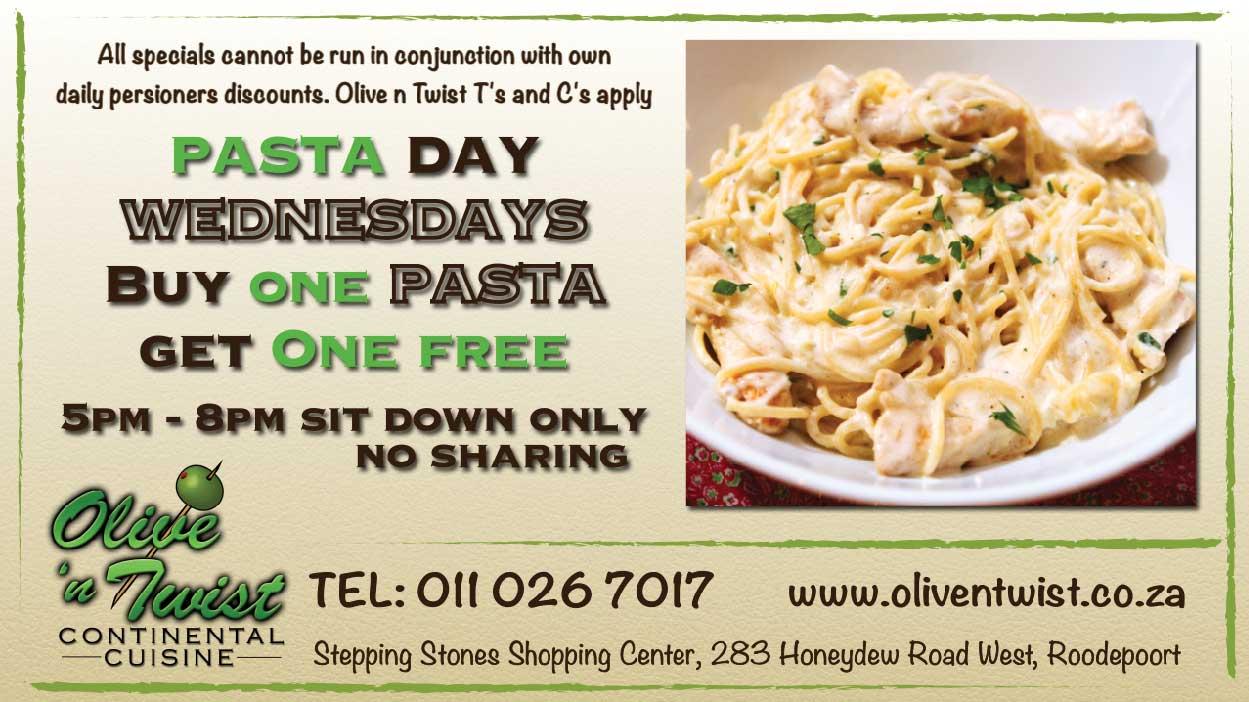Pasta-Wednesdays